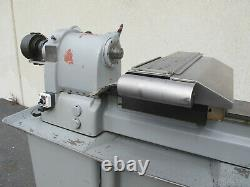 Hardinge CNC Lathe Gang Tool With Dunham 5C Collets Closer Chuck Fagor Control