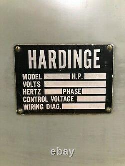 Hardinge HC Manual Lathe, 5C Collet Chuck, Turning Tool Holders Included