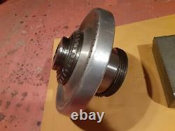 Jacob's rubber flex lathe collet chuck L0 mount withcollet set &original paperwork