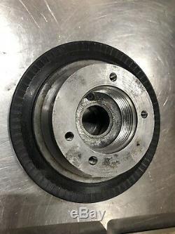 Jacobs 50 Chuck 2 1/4 8TPI 12ea RubberFlex Collets Metal Lathe South Bend Logan