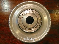 Jacobs Collet Chuck on 2 1/4 X 8 lathe mount plate for flexible rubber collets
