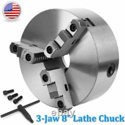 K11-200 8 3 Jaw Lathe Chuck Self-Centering Milling Machine CNC Lathe Chuck