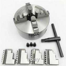 K12-130 4jaw Lathe Chuck 130mm Metal Chuck Self-centering Metalworking Milling