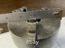 Kalamazoo 3 THREE-JAW LATHE CHUCK with 5C COLLET MOUNT Made In USA