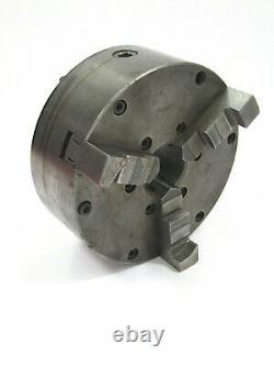 LOGAN 6-inch Diam. 3-Jaw SELF CENTERING LATHE CHUCK