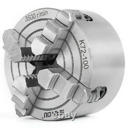 Lathe Chuck 4 Jaw K72 160-250 mm Front Milling Machine Grinding Machine