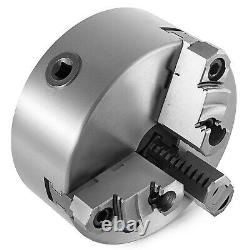 Lathe Chuck K11 3 Jaw Self-Centering Reversible Independent Hardened Steel