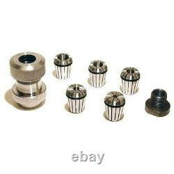 Lathe ER32 Collet Chuck System For 1-8 & 3/4-16 Spindles 1/4 3/8 1/2 5/8 3/4 New