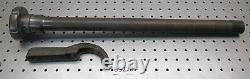Logan 14 Lathe 5C Collet Closer Tube & Wrench, Threads Very Condition, D9228