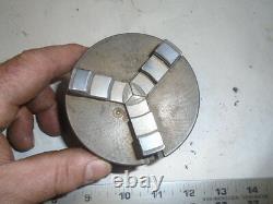 MACHINIST LATHE MILL Machinist Jewelers Lathe 3 1/4 3 Jaw Self Centering Chuck