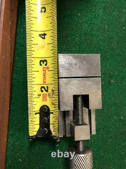 MACHINIST LATHE MILL Rare Micro Ground Grinding Vise 1 1/2 DrAa