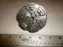 MACHINIST MILL NICE Wolf Jahn Germany 6 Jaw Jeweler Watch Maker Lathe Chuck