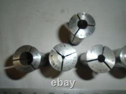 MACHINIST TOOLS LATHE MILL Machinist Lot of South Bend 4 Collets SB 4