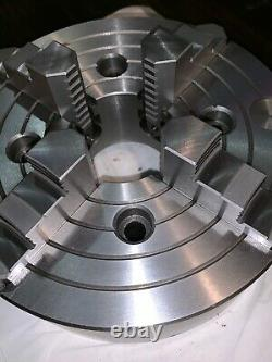 NEW 10 4-Jaw Independent Flat Back Lathe Chuck -VERY HIGH QUALITY
