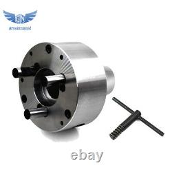 NEW 5C Collet Lathe Chuck With D1 3 Backplate Cam Lock USA