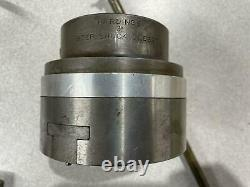 NORTHFIELD 4 Air Chuck, 3-Jaw CNC or Manual Lathe Bellows Switch Hardinge