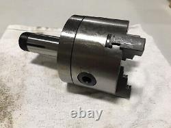 New ABS 5c 4 3 Jaw Self Centering Lathe Scroll Chuck Shank Arbor Adapter Collet