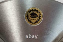 New Bison 8 4-Jaw Self Centering Lathe Chuck. Flat Back. 3604-8. Poland $907