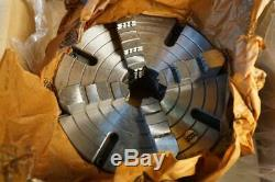 New Rapidhold 10 4-Jaw Independent Semi-Steel D1-4 Direct Mount Lathe Chuck