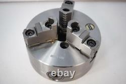New Rapidhold 6 3-Jaw STEEL Lathe Chuck. A1-5 Direct Mount. 2pc Hardened Jaws