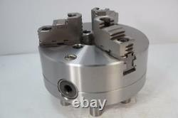New Rapidhold 8 3-Jaw Steel Lathe Scroll Chuck. D1-6 Direct mount. 2pc jaws