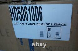 New SCA Sweden 10 4-Jaw Independent Lathe Chuck D6 D1-6 Direct Mount $1805 List