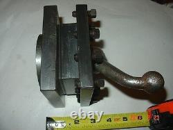 One ENCO Universal 4 Turret Tool Post Holder for medium to large lathe's