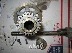 Original South Bend Heavy 10 Metal Lathe Headstock Quill Back Gear Asm Complete