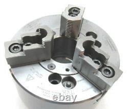 PRATT BURNERD 170mm THREE-JAW CNC LATHE POWER CHUCK with A2-5 MOUNT #9827-18150