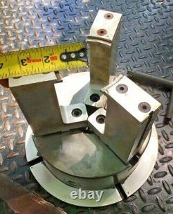 Poland 8 3-Jaw With 2pc Piston Jaws Milling Machine Metal Lathe Chuck Pre Bison