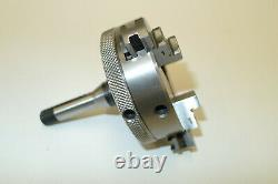 Quality PULTRA 10mm Collet Mount 3 JAW SCROLL CHUCK for lathe 65mm diameter