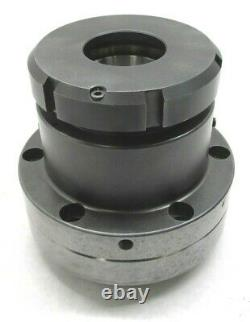 RIKEN AD-40 CNC COLLET CHUCK LATHE NOSEPIECE with A2-5 MOUNT #AD-40
