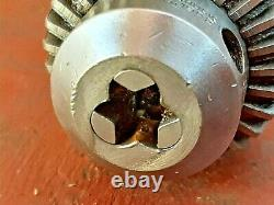 SCHAUBLIN 70 lathe ww 12 mm DRILL CHUCK mill drilling head collet arbor Jacobs 7