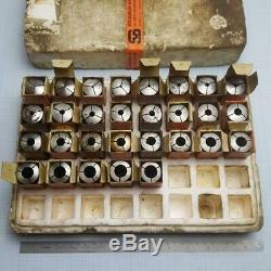 SCHAUBLIN W-20 W20 Collet Set 1 (29 pcs) 2-16mm for Schaublin, Aciera Lathe