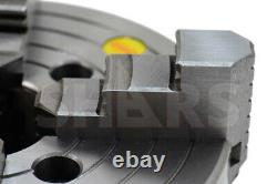 Shars 8 4 Jaw Independent Lathe Chuck Tir Certificate + 2-1/4-8 Back Plate R