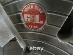 South Bend 12, 4-Jaw, D1-8, Independent Lathe Chuck, ID# C-103