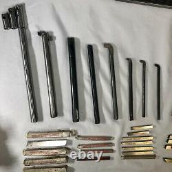 Southbend Atlas Craftsman 9 10 12 Metal Lathe Tool Lot Boring Bars Cutting Bits