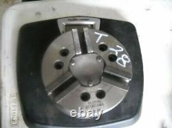 T28 Kitagawa B 206 6 3 Jaw Power Lathe Chuck, CNC Lathe with A2-5 adapter