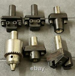 Turret tools for levin watchmakers Jewelers lathe Chuck collet holder 10mm or WW