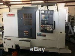 USED MORI SEIKI NL-2000Y CNC LATHE 2005 Y-Axis Tailstock Collet Chuck