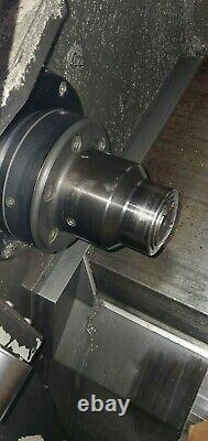 Used Haas SL-20 CNC Turning Center Lathe Tailstock Collet Chuck Tool Setter 1999