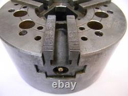Used Kitagawa B-6 Power Chuck, 6.50 Diameter, 3-Jaw, Lathe, Plain Back Mount