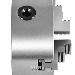 VEVOR 3 Jaw K11-80/250 Lathe Chuck Self Centering Reversible Hardened Steel US