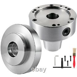 VEVOR 5C Collet Lathe Chuck Closer with Semi-Finished Adp. 1-1/2x3 Cam Locks