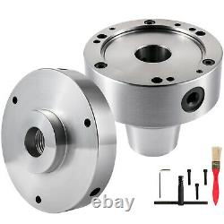 VEVOR 5C Collet Lathe Chuck Closer with Semi-Finished Adp. 1 x 3 Cam Locks